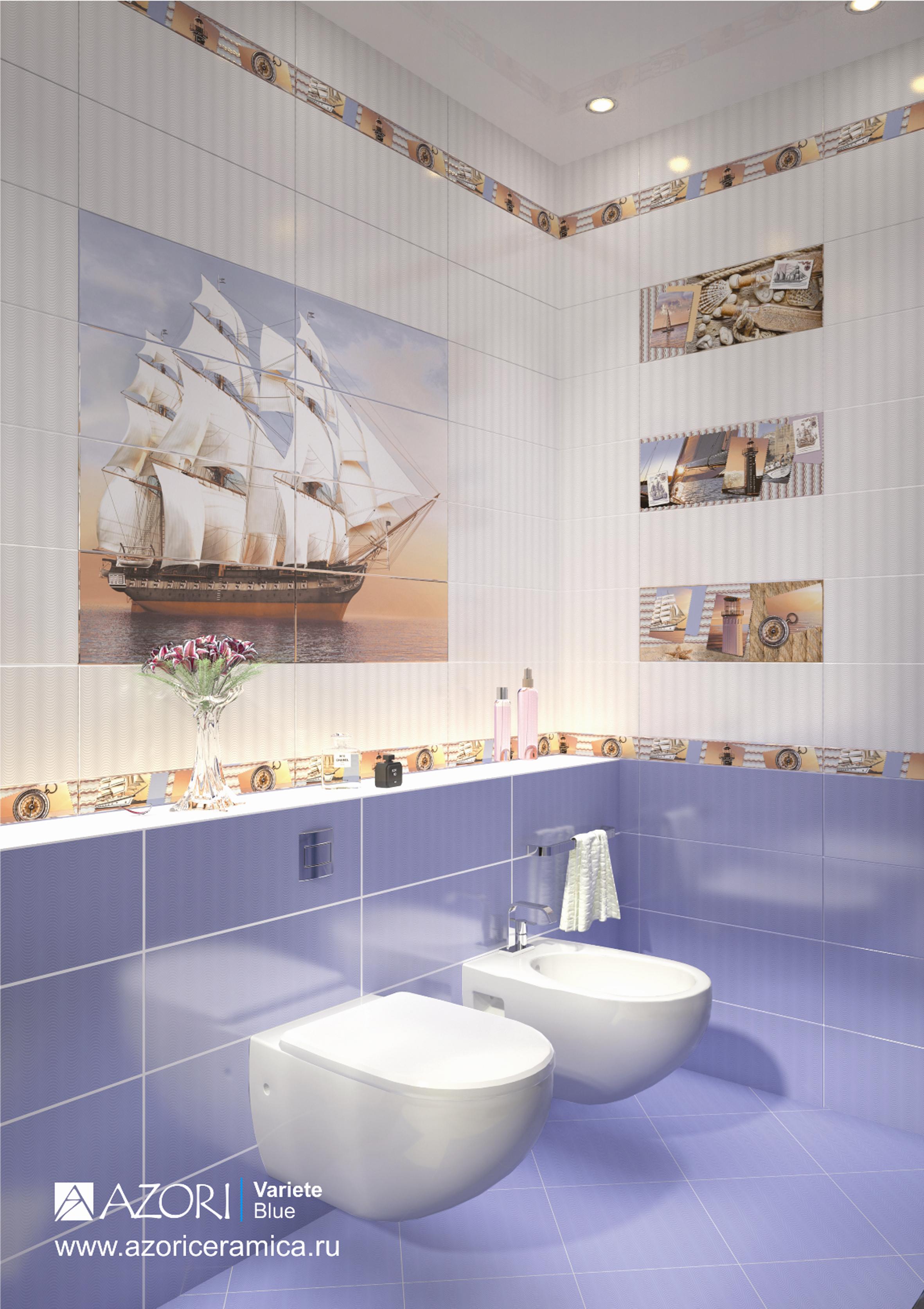 Кафельная плитка для ванной в картинках